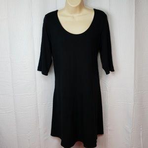 Eileen Fisher Black dress size large